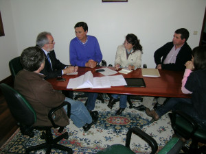 Executivo Municipal visitou Carvoeiro