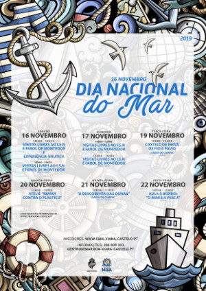 Viana do Castelo comemora a Semana do Mar de 16 a 22 de novembro