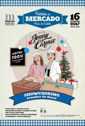 Feirão de Natal no Mercado Municipal com showcooking e Team Market