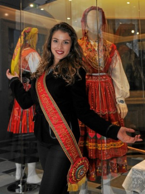 Miss República Portuguesa no Museu do Traje