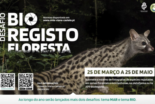 Desafio BioRegisto Floresta-Mar-Rio